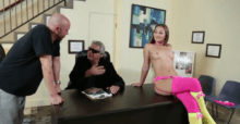 Dani Daniels Fucked On Desk