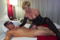 Horny mature pornstar Rapture gets very busy