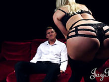 Incredible Victoria Summers teases a man before getting nailed