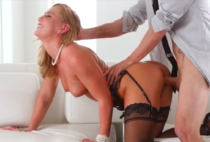 Carter Cruise fucked hard by businessman