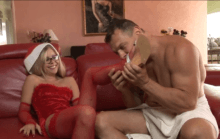 Blonde mature gets pussy creampie