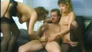 Two Amateurs And A Stud Retro Video