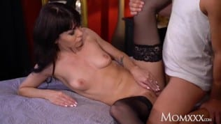 Hot mature in stockings fucked hard xxx video